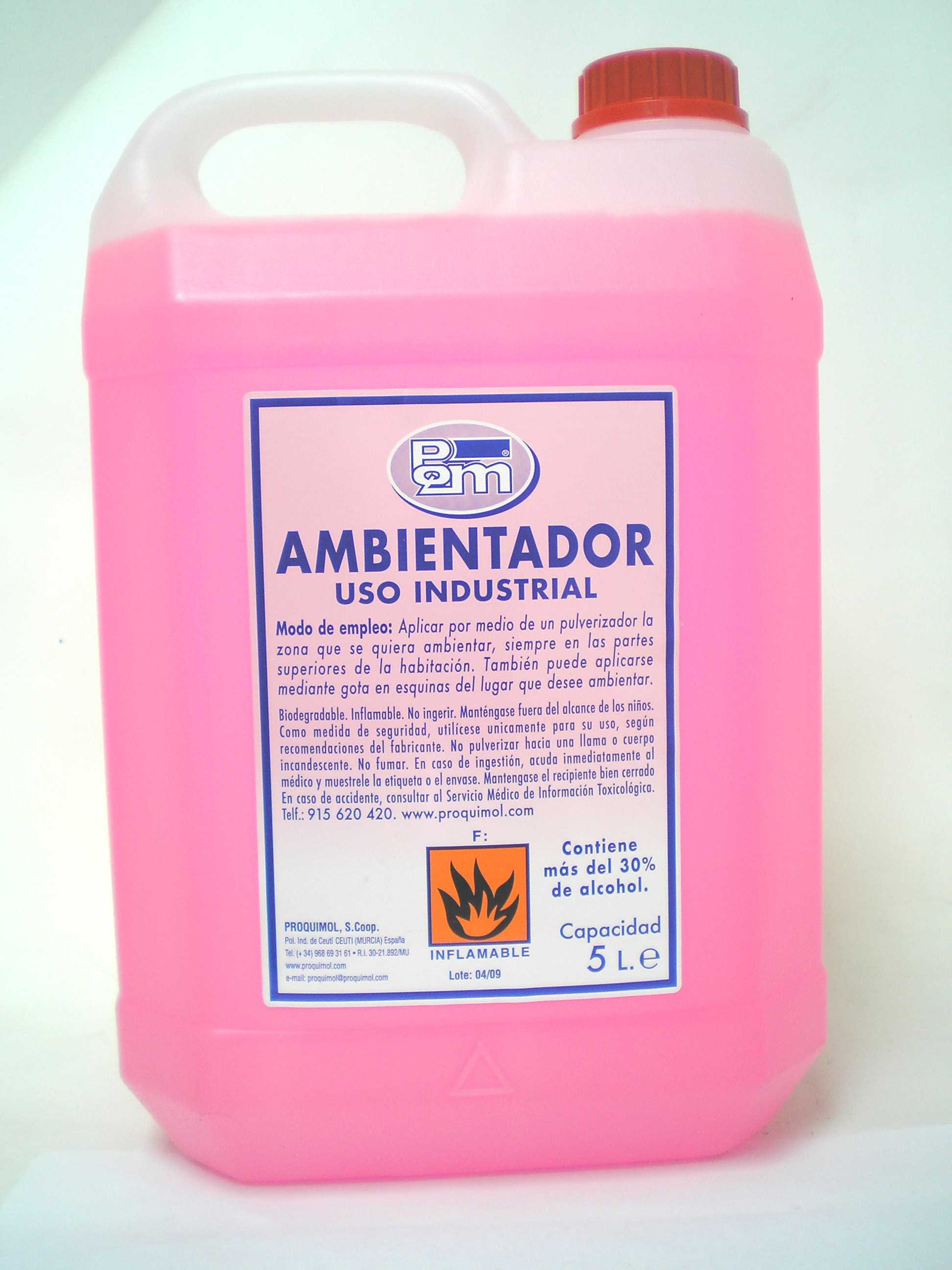 Ambientador rosa 5 l proquimol - Ambientadores hogar ...